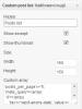 Custom posts list widget